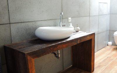 Beton w łazience czyli: co zamiast płytek do łazienki?