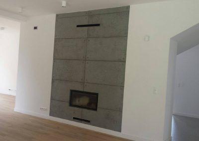 radomierzyce kominek beton architektoniczny2