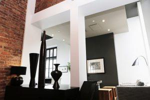 beton architektoniczny salon
