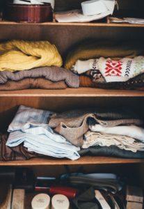 garderoba w małym mieszkaniu