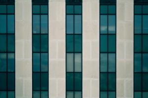 okno ściany z betonu