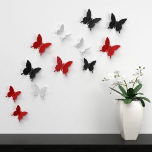naklejki na ścianę dekoracyjne motyle