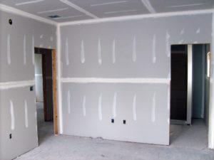 ściana działowa z płyt gipsowo kartonowych