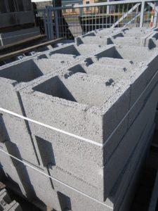 Sklad budowlany materiały zima