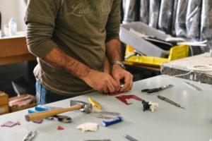 atelier warsztat wyposażenie