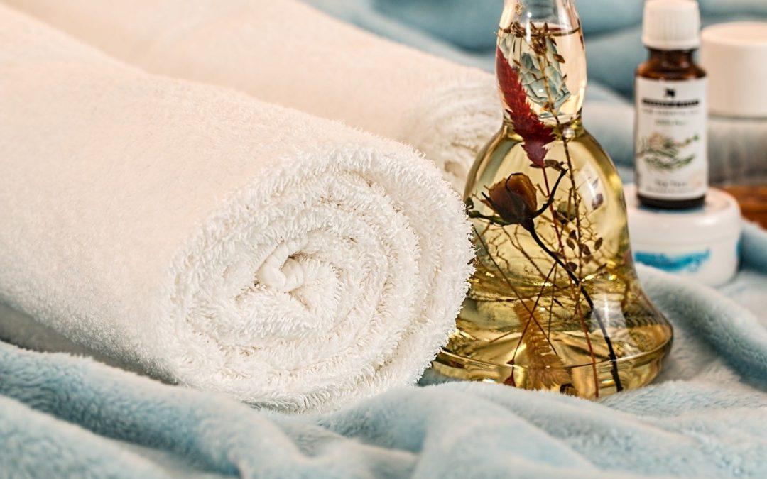 gabinet spa ręczniki relaks