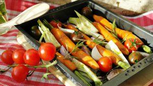 nowoczeny wystrój kuchni ogrodowej
